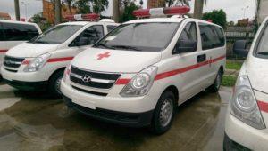 Xe cứu thương hiện đại của vận chuyển cấp cứu 115 HDcare