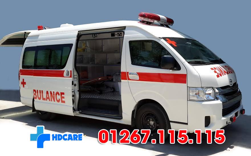 Thuê xe cấp cứu của HD Care